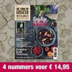 Magazine de tuin op tafel tijdschrift
