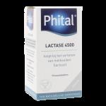 Phital lactase 4500 fcc kauwtabletten