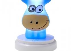 Alecto Naughty Cow nachtlampje kinderkamer
