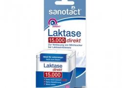 TIJDELIJK UITVERKOCHT Sanotact Lactase Tabletten 15.000 FCC (vegan!)