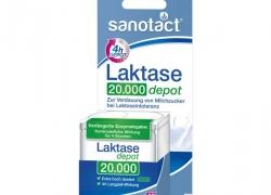 TIJDELIJK UITVERKOCHT Sanotact Lactase Tabletten 20.000 FCC (vegan!)