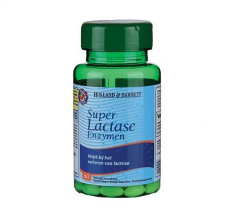 TIJDELIJK UITVERKOCHT Holland & Barrett Lactase Capsules 7.312 FCC