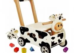 Loopwagen en Duwwagen Koe I'm Toy