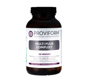 Proviform Multi Puur Compleet Vegicaps 120 capsules (vegan!)